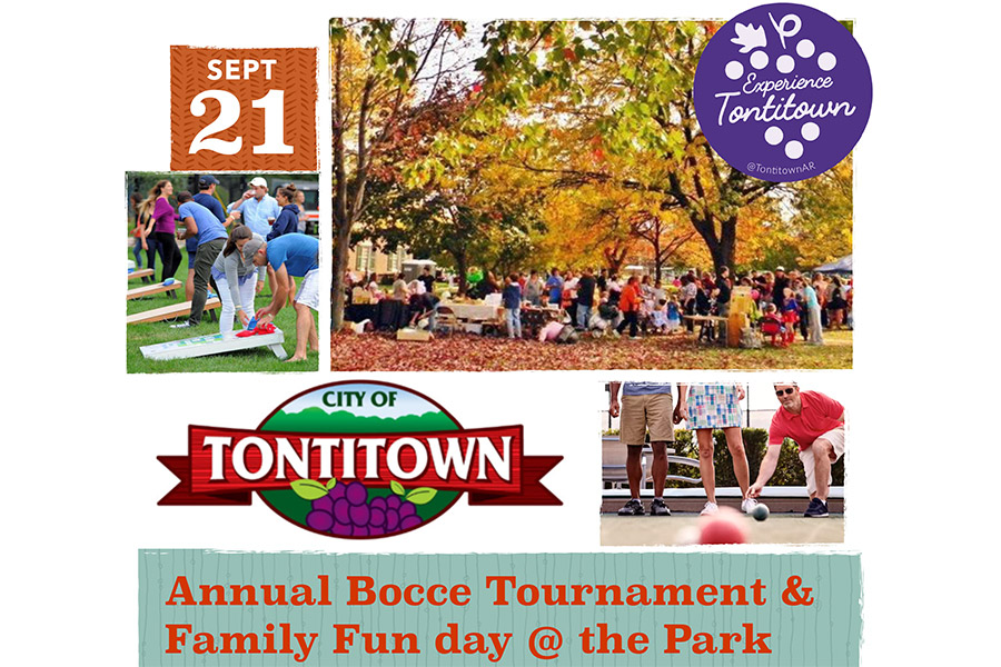 Annual Bocce Tournament & Family Fun Day at the Park