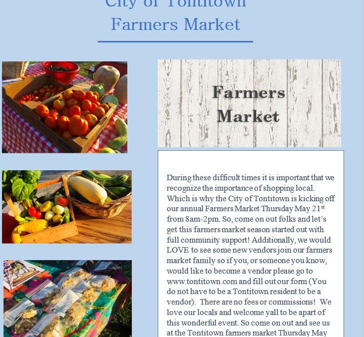City of Tontitown Farmers Market