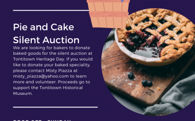 🥧1st Annual Tontitown Pie and Cake Silent Auction: Sign Up🥧