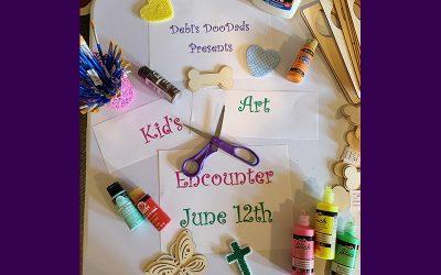 Kids Art Encounter at Farmers' Market