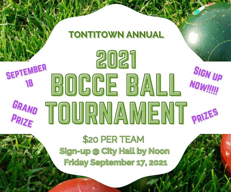 Bocce Ball tournament and Classics Car Show