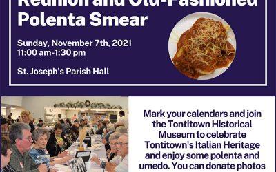 Tontitown Reunion and Old-Fashioned Polenta Smear